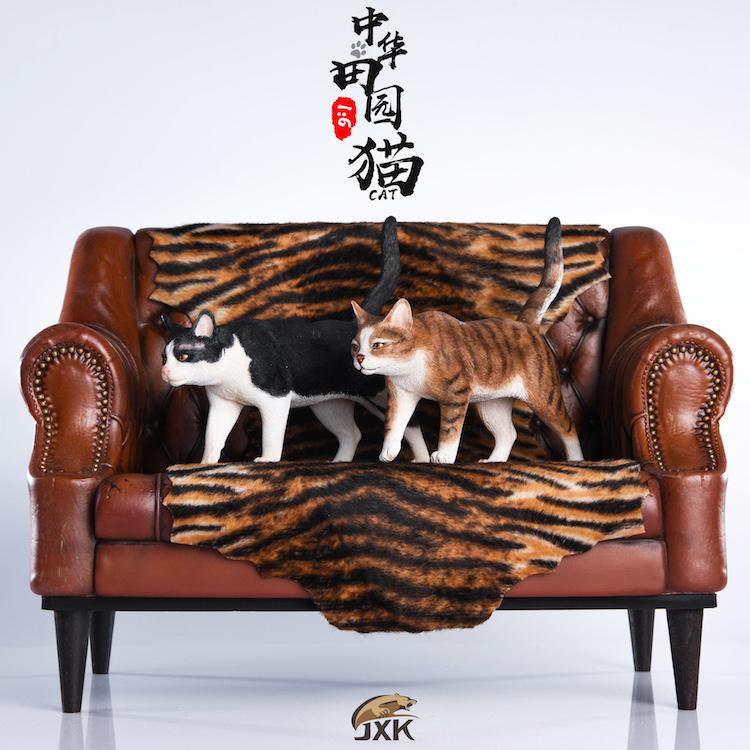 NEW PRODUCT: JXK New 1/6 Chinese Garden Cat Series JxK003 Decoration Static Animal Model 23224410