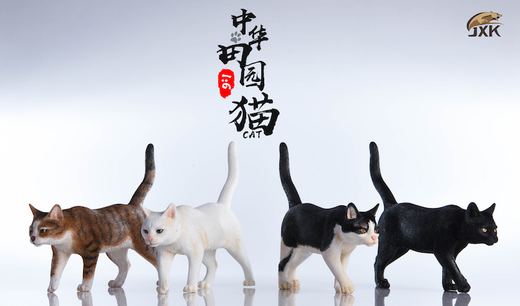 NEW PRODUCT: JXK New 1/6 Chinese Garden Cat Series JxK003 Decoration Static Animal Model 23230110