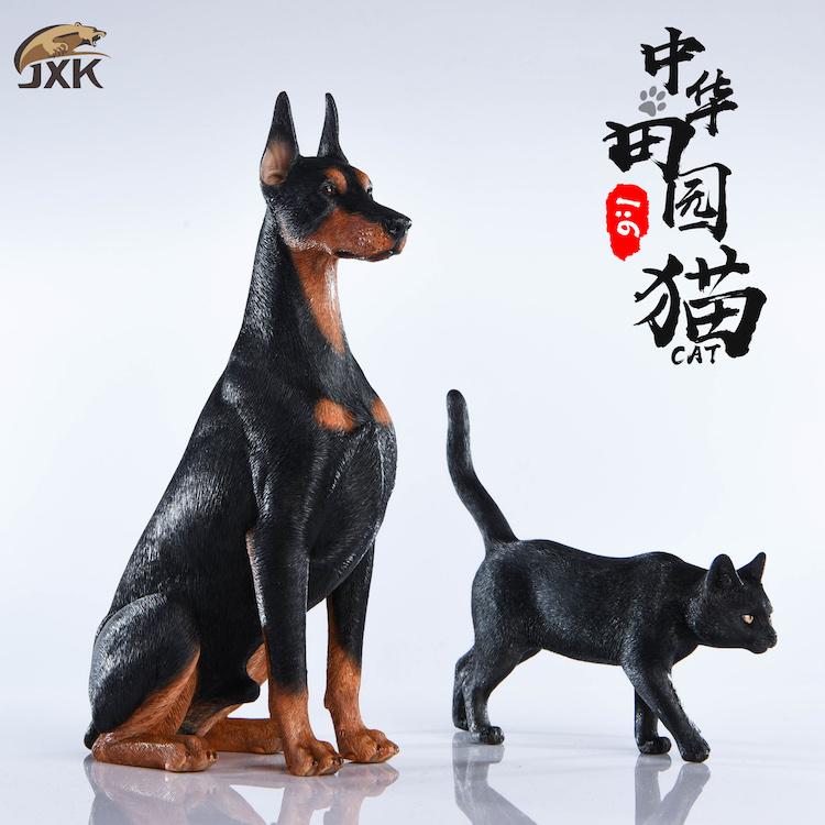 NEW PRODUCT: JXK New 1/6 Chinese Garden Cat Series JxK003 Decoration Static Animal Model 23230111
