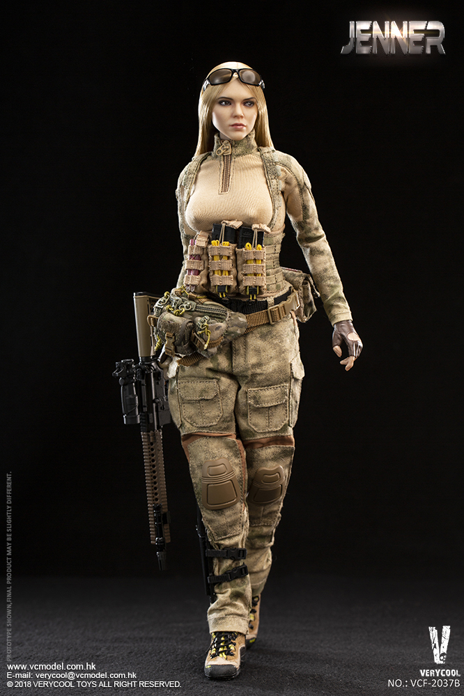 Dog - NEW PRODUCT: VERYCOOL new product: 1/6 ruin camouflage double female soldier - Jenna JENNER movable doll - A section & B section + German shepherd 23232510