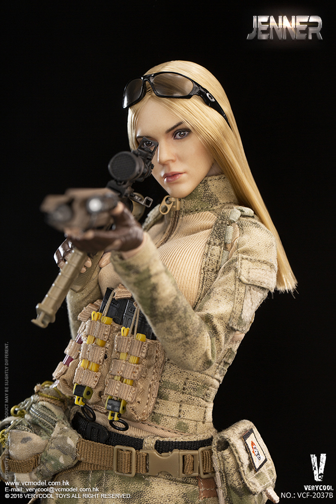 Dog - NEW PRODUCT: VERYCOOL new product: 1/6 ruin camouflage double female soldier - Jenna JENNER movable doll - A section & B section + German shepherd 23232810