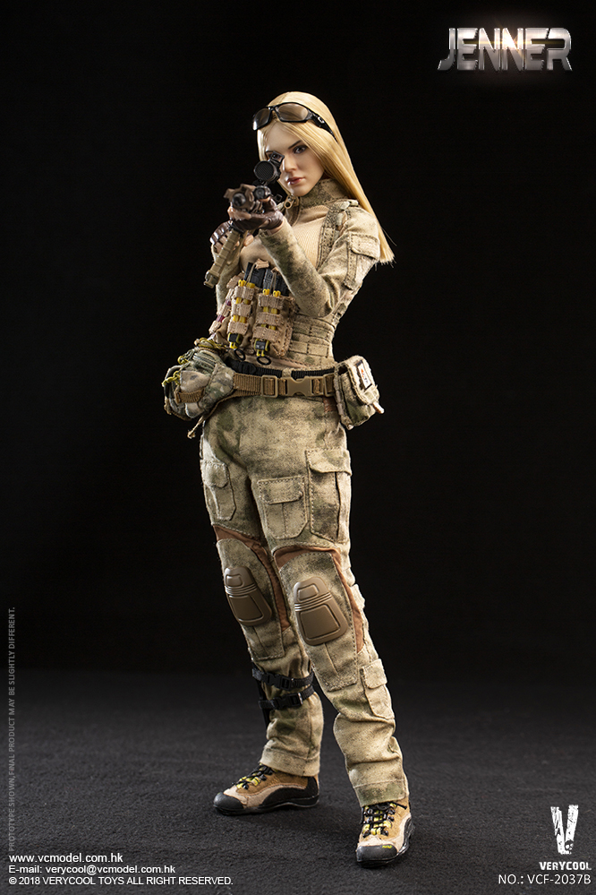 Dog - NEW PRODUCT: VERYCOOL new product: 1/6 ruin camouflage double female soldier - Jenna JENNER movable doll - A section & B section + German shepherd 23232811