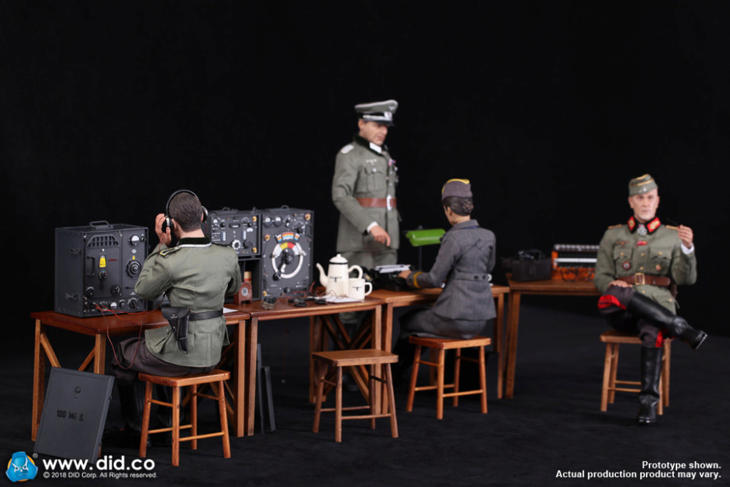 DiD - NEW PRODUCT: Gerd - WH Radio Operator - WWII German Communications Series 3 - DiD 1/6 Scale Figure 2333