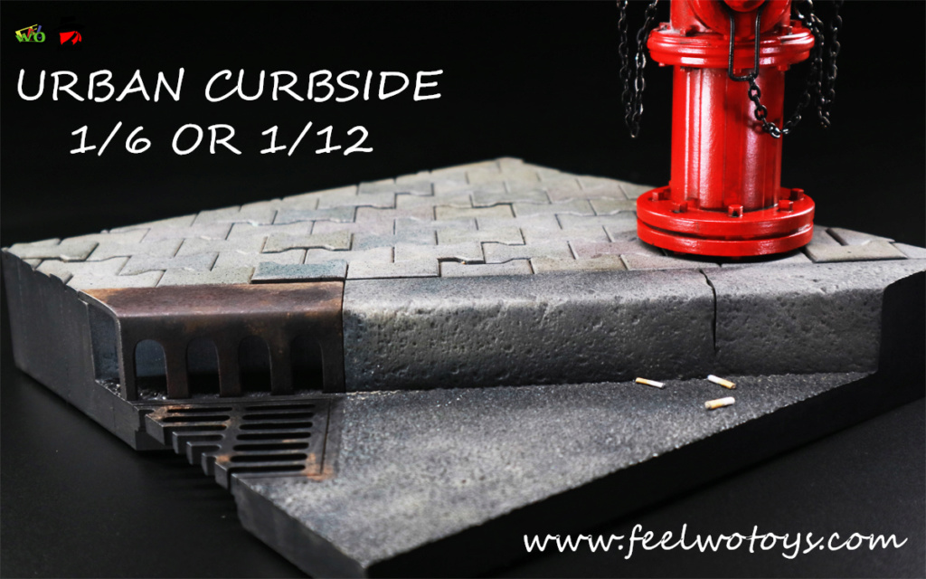FeelwoToys - NEW PRODUCT: FEELWOTOYS: 1/6 & 1/12 Desperado Doll Scene Series - City Street Scene 23391210