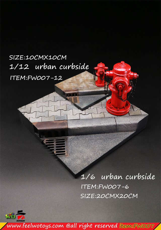 FeelwoToys - NEW PRODUCT: FEELWOTOYS: 1/6 & 1/12 Desperado Doll Scene Series - City Street Scene 23391410