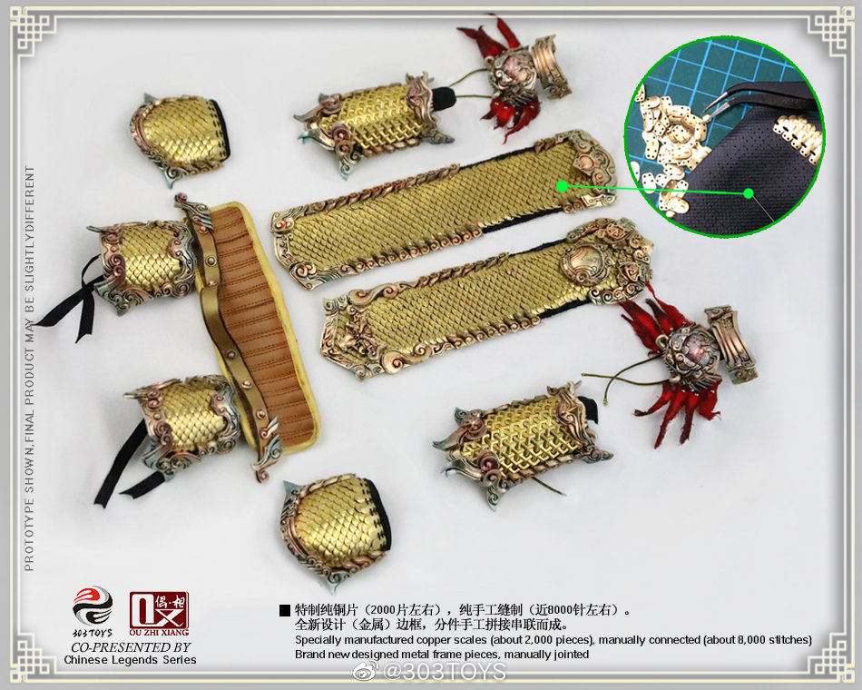 Mythology - NEW PRODUCT: 303TOYS x Evening phase: 1/6 National Wind Legend Series - Sun Wukong Monkey King Apocalypse & Dasheng Qitian & Stepping 23415010