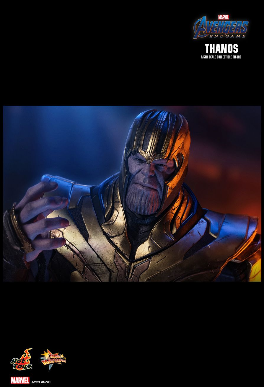 Thanos - NEW PRODUCT: HOT TOYS: AVENGERS: ENDGAME THANOS 1/6TH SCALE COLLECTIBLE FIGURE 2342
