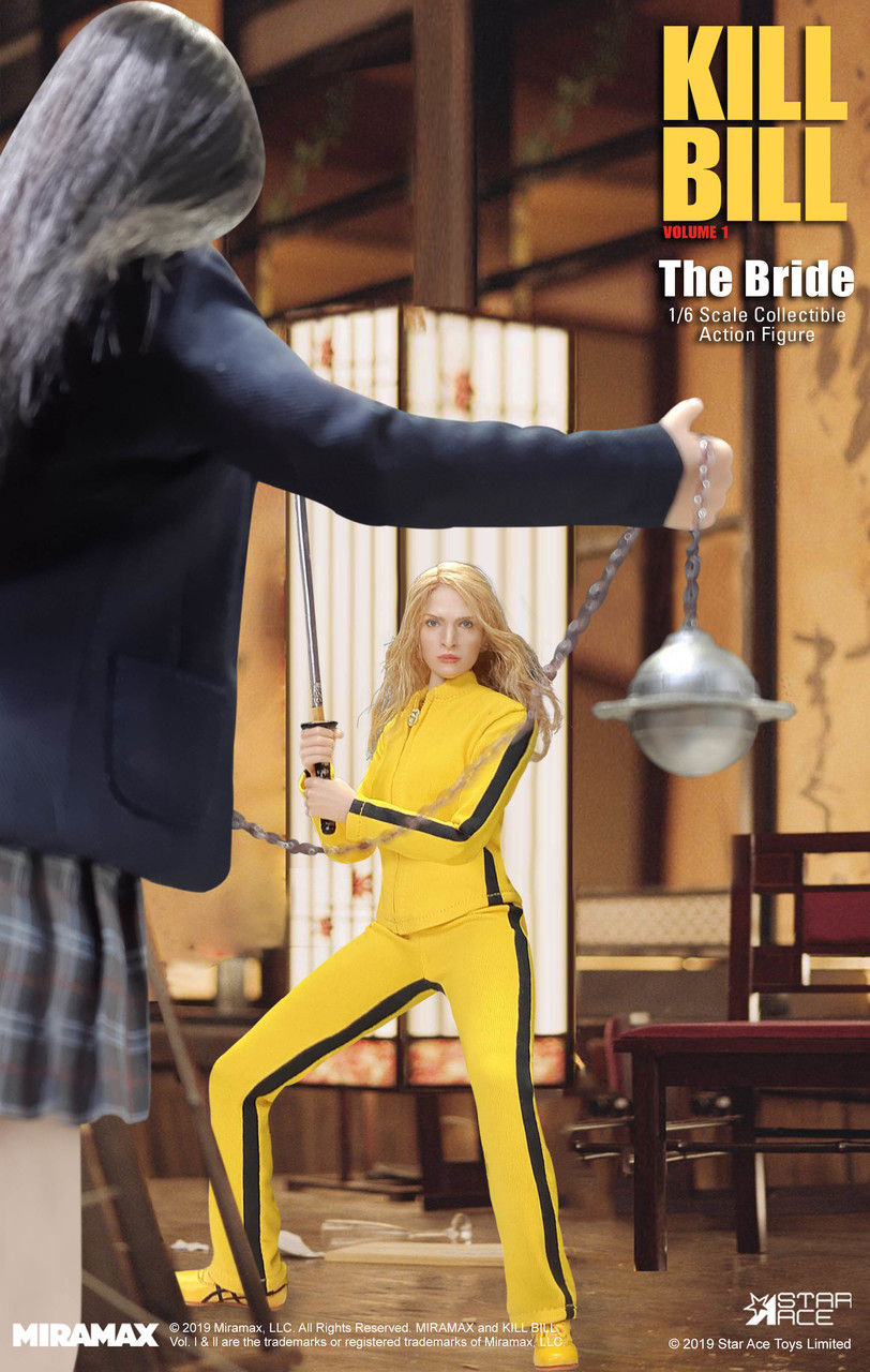 NEW PRODUCT: [SA-0039] Kill Bill The Bride Vol. 1 1/6 Scale Figure by Star Ace 2345