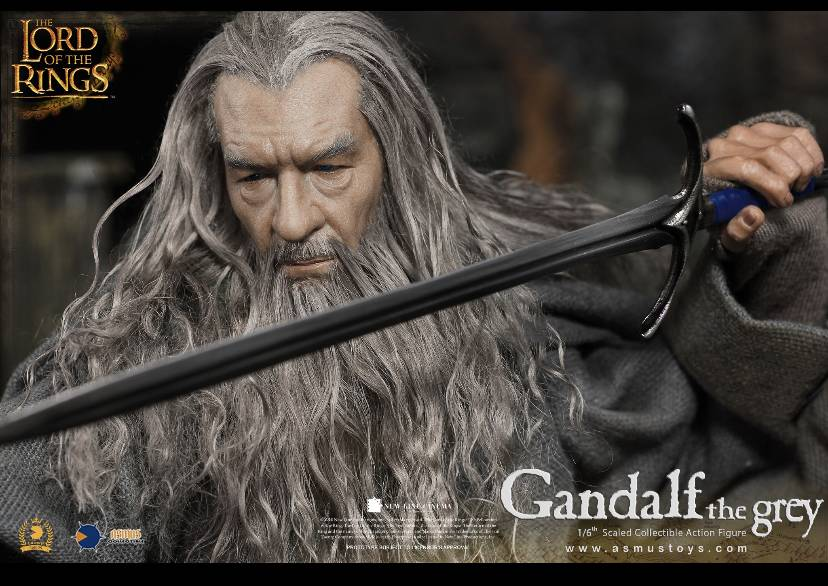 NEW PRODUCT: ASMUS TOYS THE CROWN SERIES : GANDALF THE GREY 1/6 figure 2350