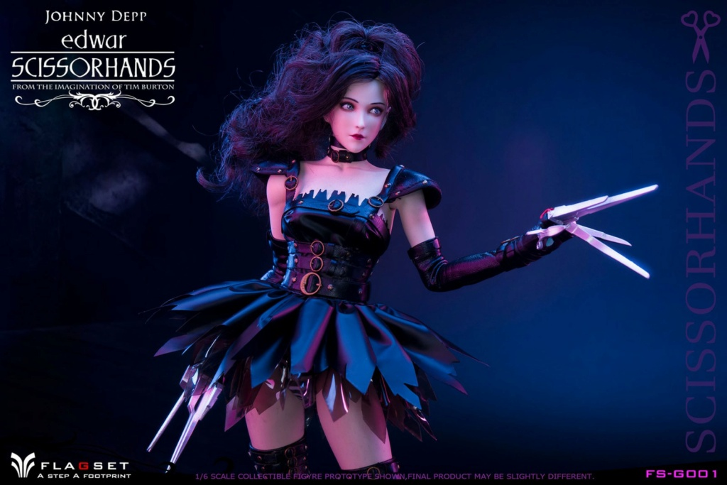 Stylized - NEW PRODUCT: Flagset: 1/6 Edwar Scissorhands (FS-G001#) (NOT A MISSPELLING, AND NOT WHAT YOU THINK) 23521810