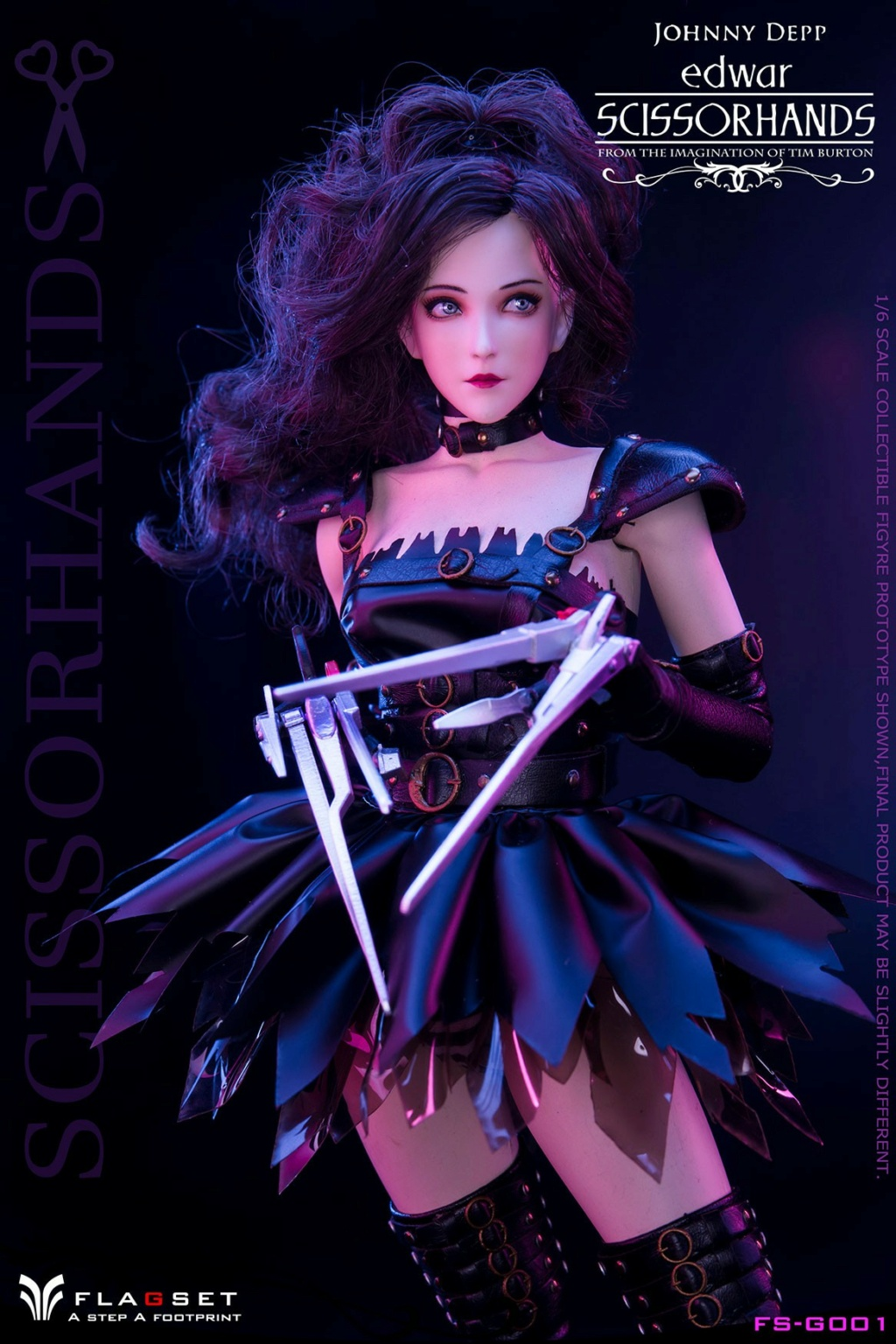 Stylized - NEW PRODUCT: Flagset: 1/6 Edwar Scissorhands (FS-G001#) (NOT A MISSPELLING, AND NOT WHAT YOU THINK) 23522010