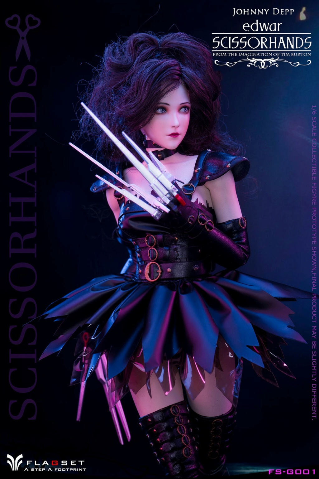 Stylized - NEW PRODUCT: Flagset: 1/6 Edwar Scissorhands (FS-G001#) (NOT A MISSPELLING, AND NOT WHAT YOU THINK) 23522313