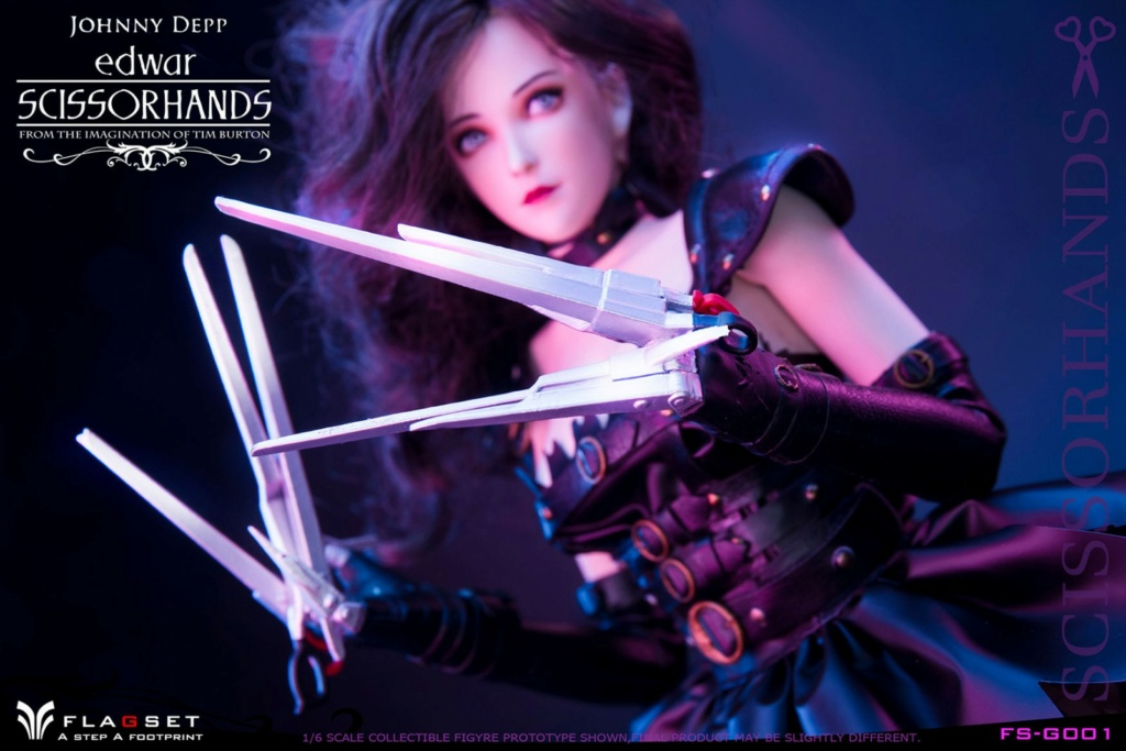 Stylized - NEW PRODUCT: Flagset: 1/6 Edwar Scissorhands (FS-G001#) (NOT A MISSPELLING, AND NOT WHAT YOU THINK) 23522511