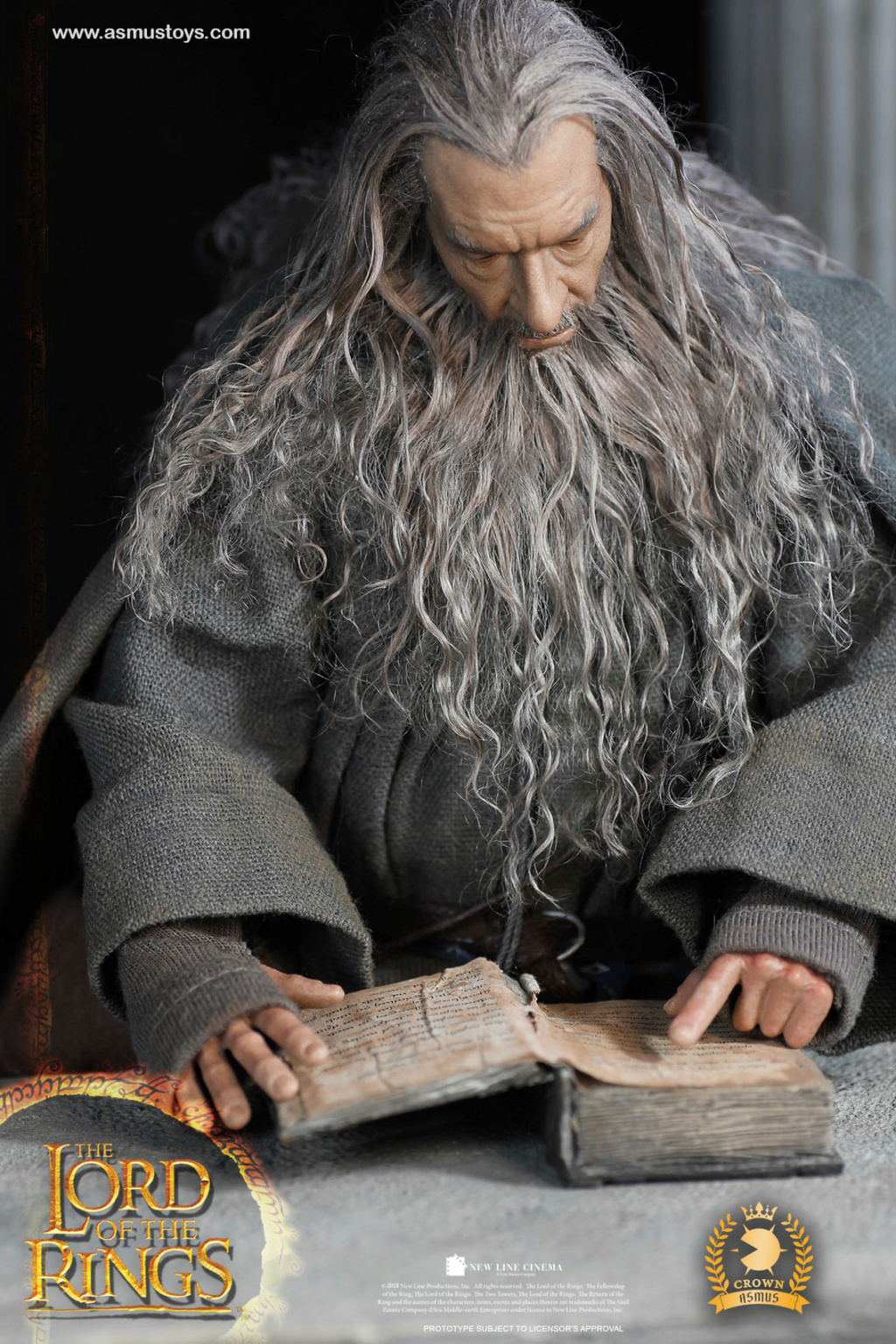 NEW PRODUCT: ASMUS TOYS THE CROWN SERIES : GANDALF THE GREY 1/6 figure 2357