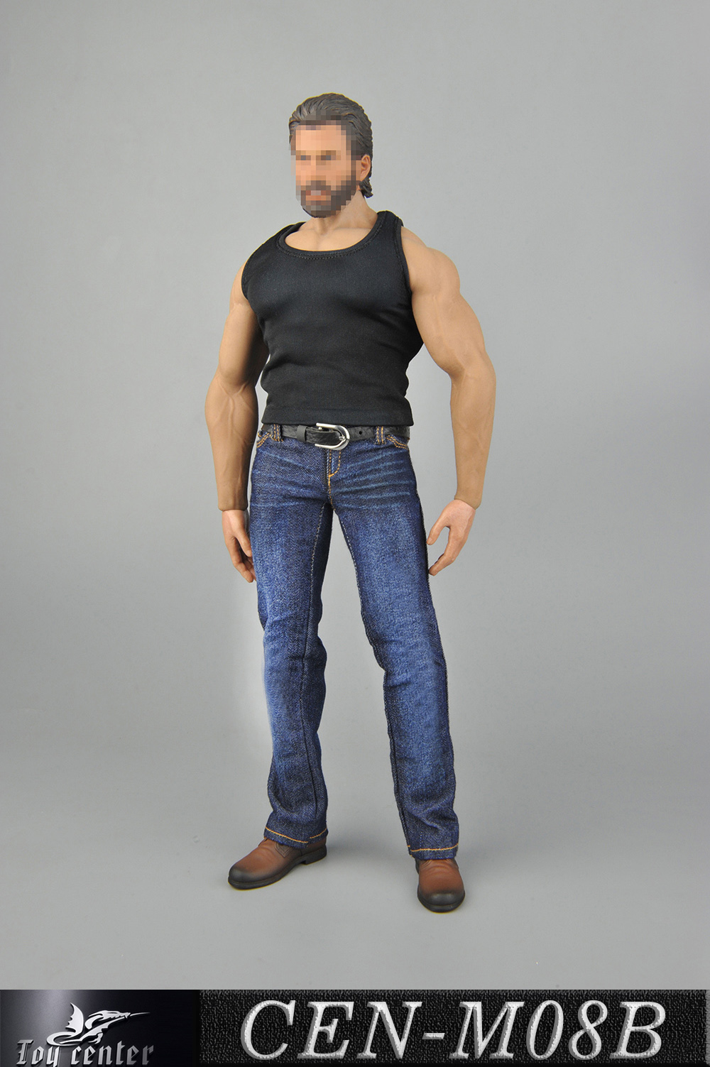 clothes - NEW PRODUCT: Toy Center: 1/6 Sports Vest Jeans Set - Three Colors A/B/C 2359