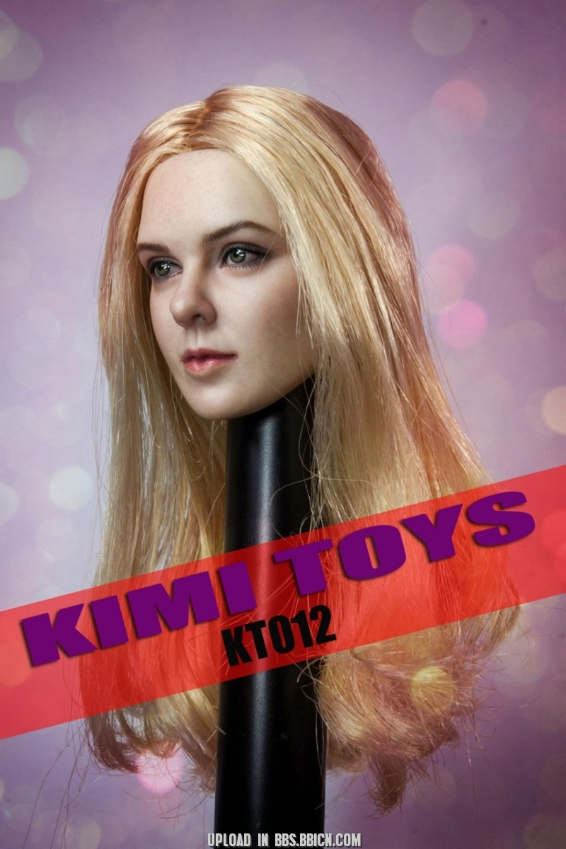 NEW PRODUCT: Kimi Toyz 1:6 European and American Female Headsculpt [KT-012] 236
