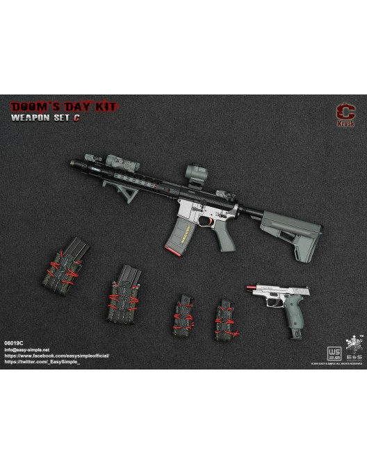 NEW PRODUCT: Easy&Simple: 06018 1/6 Scale PMC Weapon Set in 3 Styles & 06019 1/6 Scale Doom's Day Weapon Set in 3 Styles 2362
