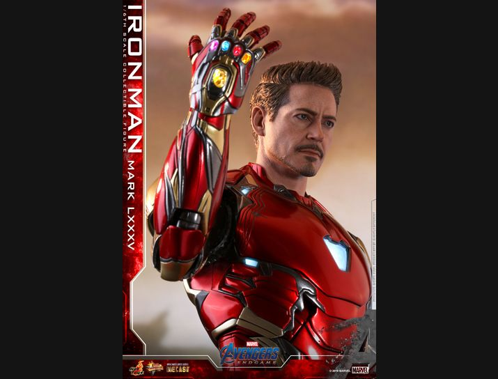 NEW PRODUCT: HOT TOYS: AVENGERS: ENDGAME IRON MAN MARK LXXXV 1/6TH SCALE COLLECTIBLE FIGURE 2363