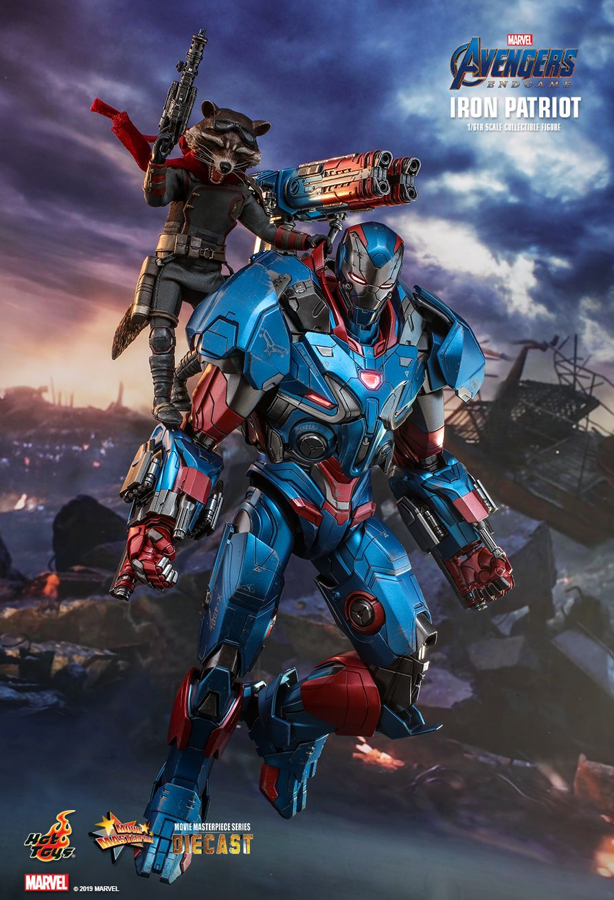 Endgame - NEW PRODUCT: HOT TOYS: AVENGERS: ENDGAME IRON PATRIOT 1/6TH SCALE COLLECTIBLE FIGURE 2379