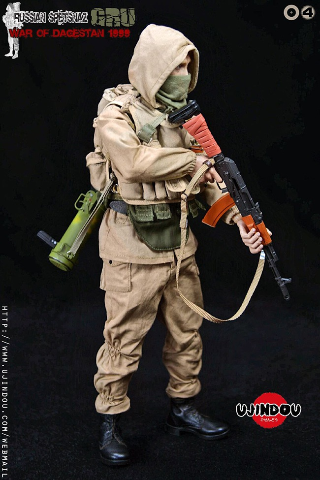 UJINDOU -  NEW PRODUCT: UJINDOU: 1/6 Russian Special Forces-Dagestan War 1999 #UD9004 [Update and update] 23802c10