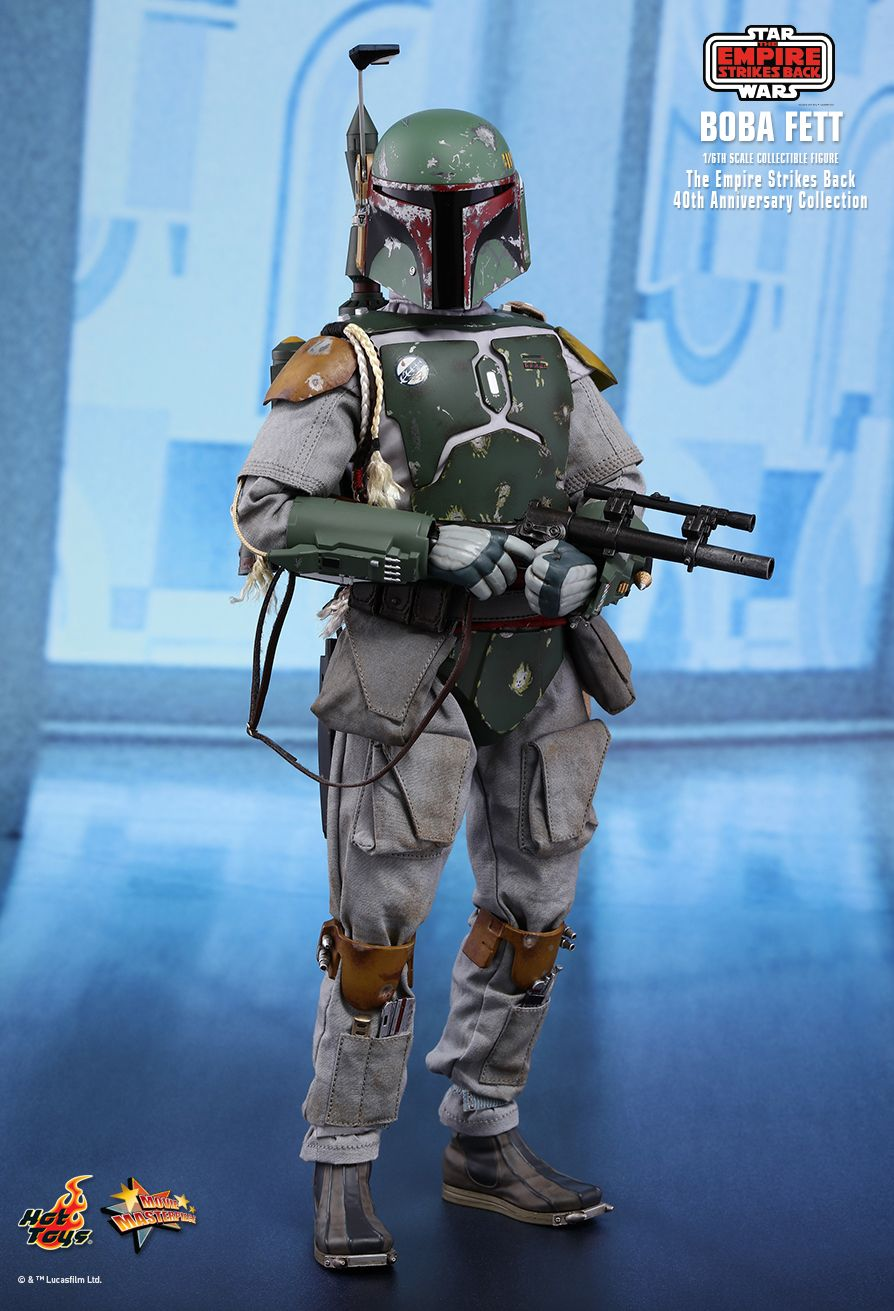 empirestrikesback - NEW PRODUCT: HOT TOYS: STAR WARS: THE EMPIRE STRIKES BACK™ BOBA FETT™ (STAR WARS: THE EMPIRE STRIKES BACK 40TH ANNIVERSARY COLLECTION) 1/6TH SCALE COLLECTIBLE FIGURE 23bff710