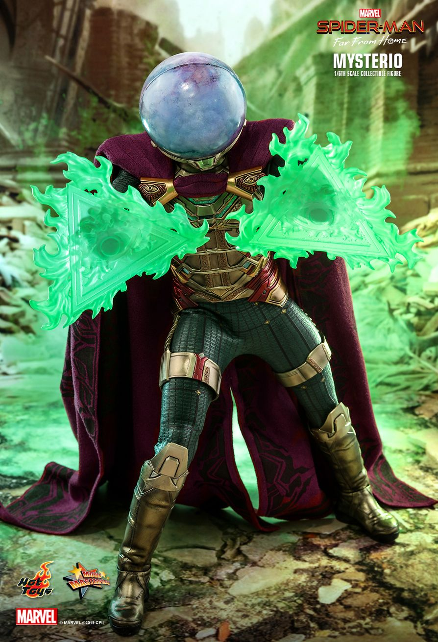 NEW PRODUCT: HOT TOYS: SPIDER-MAN: FAR FROM HOME MYSTERIO 1/6TH SCALE COLLECTIBLE FIGURE 2400
