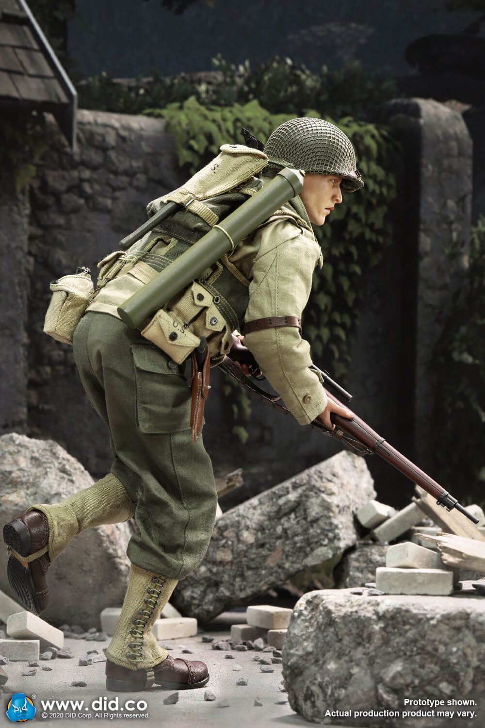 DiD - NEW PRODUCT: DiD: A80144 WWII US 2nd Ranger Battalion Series 4 Private Jackson 24116