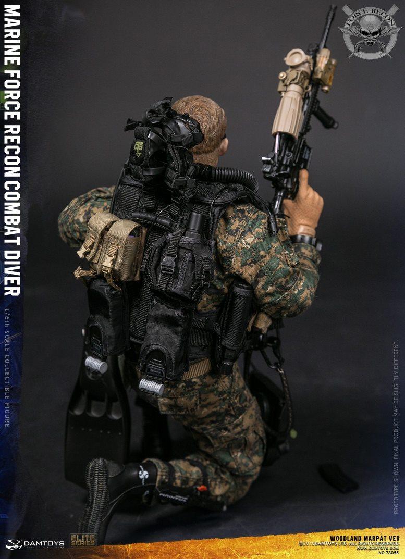 DamToys - NEW PRODUCT: DAM Toys: Marine Force Recon Combat Diver (Desert MARPAT) (GIDAM-78056) & (Woodland MARPAT) (GIDAM-78055) 2417