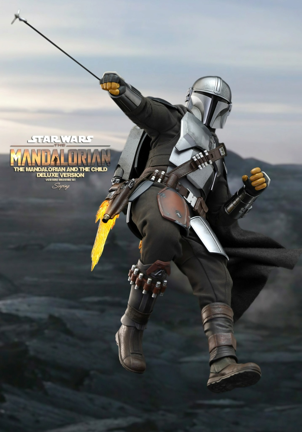 Sci-Fi - NEW PRODUCT: HOT TOYS: THE MANDALORIAN THE MANDALORIAN AND THE CHILD 1/6TH SCALE COLLECTIBLE SET (Standard and Deluxe) 24181e10