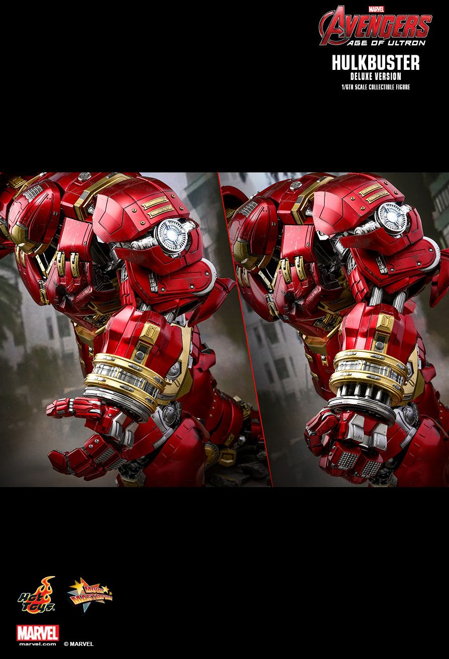 NEW PRODUCT: HOT TOYS: AVENGERS: AGE OF ULTRON HULKBUSTER (DELUXE VERSION) 1/6TH SCALE COLLECTIBLE FIGURE 2420