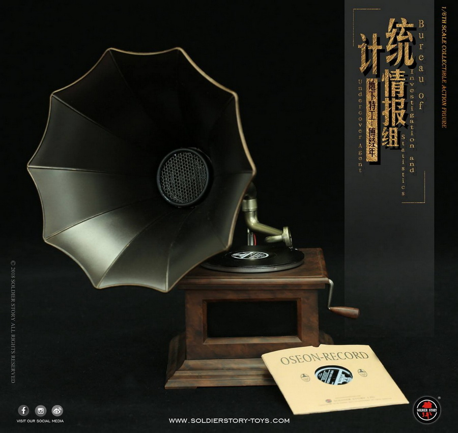 SoldierStory - NEW PRODUCT: SoldierStory new product: 1/6 World War II statistical intelligence group underground agent Fu Jingian - Shanghai 1942 (SS113#) 2427
