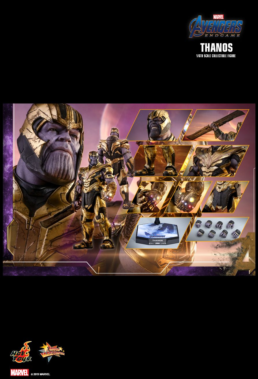 Thanos - NEW PRODUCT: HOT TOYS: AVENGERS: ENDGAME THANOS 1/6TH SCALE COLLECTIBLE FIGURE 2441