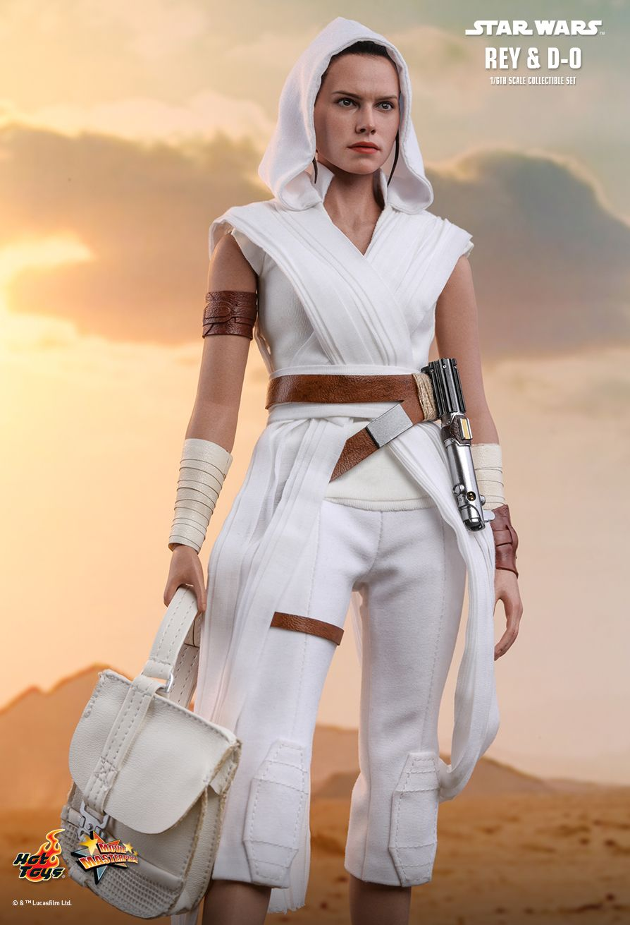 Rey - NEW PRODUCT: HOT TOYS: STAR WARS: THE RISE OF SKYWALKER REY AND D-O 1/6TH SCALE COLLECTIBLE FIGURE 2459