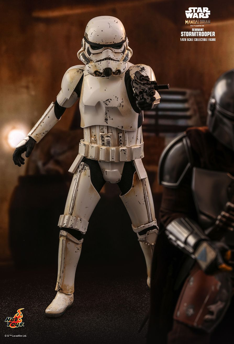 sci-fi - NEW PRODUCT: HOT TOYS: THE MANDALORIAN REMNANT STORMTROOPER 1/6TH SCALE COLLECTIBLE FIGURE 2476