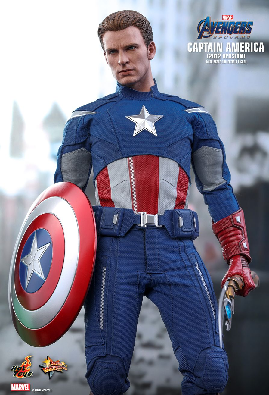movie - NEW PRODUCT: HOT TOYS: AVENGERS: ENDGAME CAPTAIN AMERICA (2012 VERSION) 1/6TH SCALE COLLECTIBLE FIGURE 2479