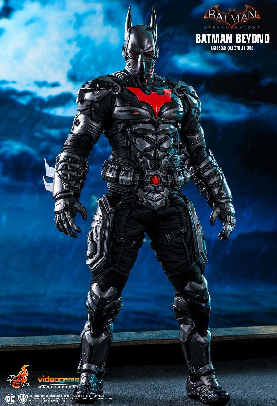 BatmanBeyond - NEW PRODUCT: HOT TOYS: BATMAN: ARKHAM KNIGHT BATMAN BEYOND 1/6TH SCALE COLLECTIBLE FIGURE 2490