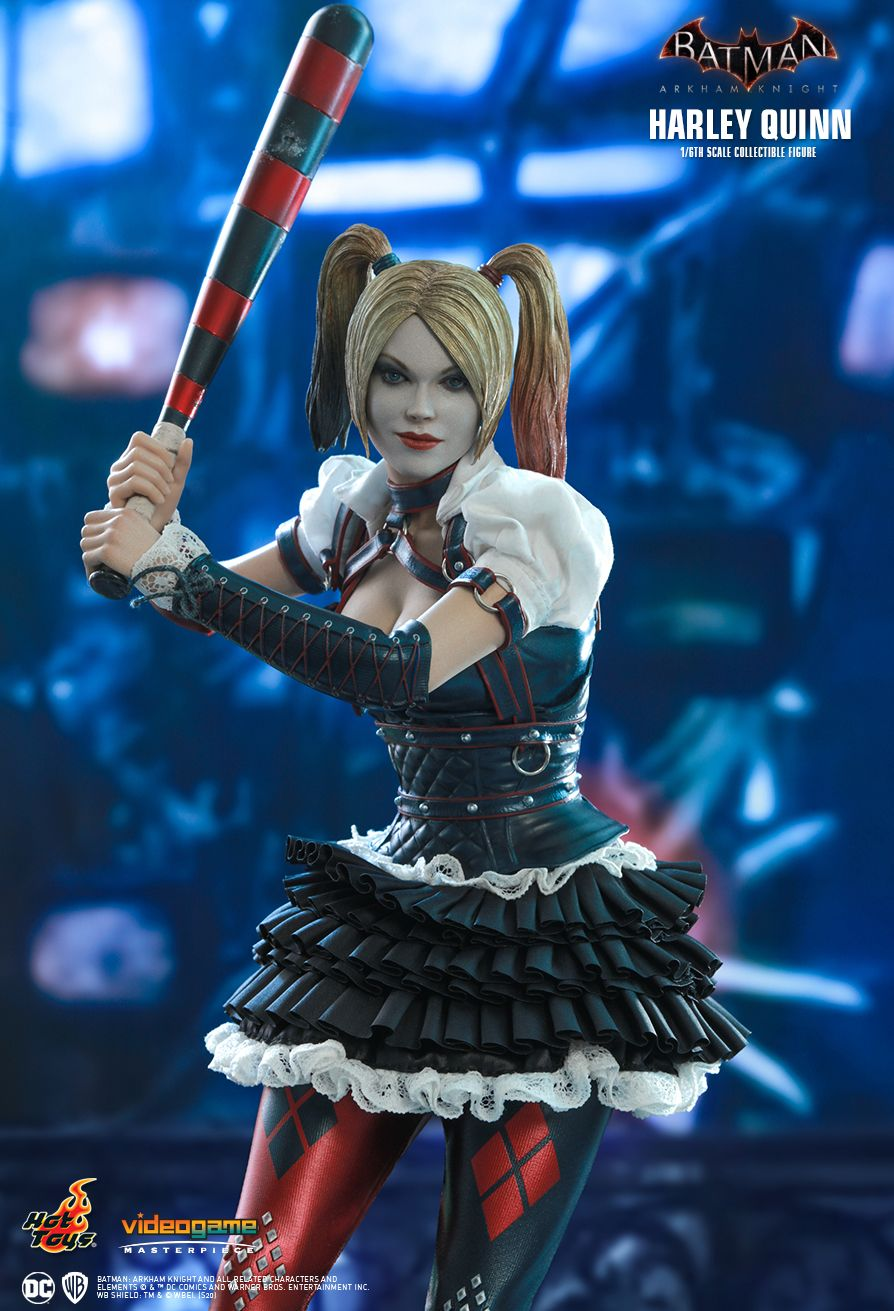 HarleyQuinn - NEW PRODUCT: HOT TOYS: BATMAN: ARKHAM KNIGHT HARLEY QUINN 1/6TH SCALE COLLECTIBLE FIGURE 2504