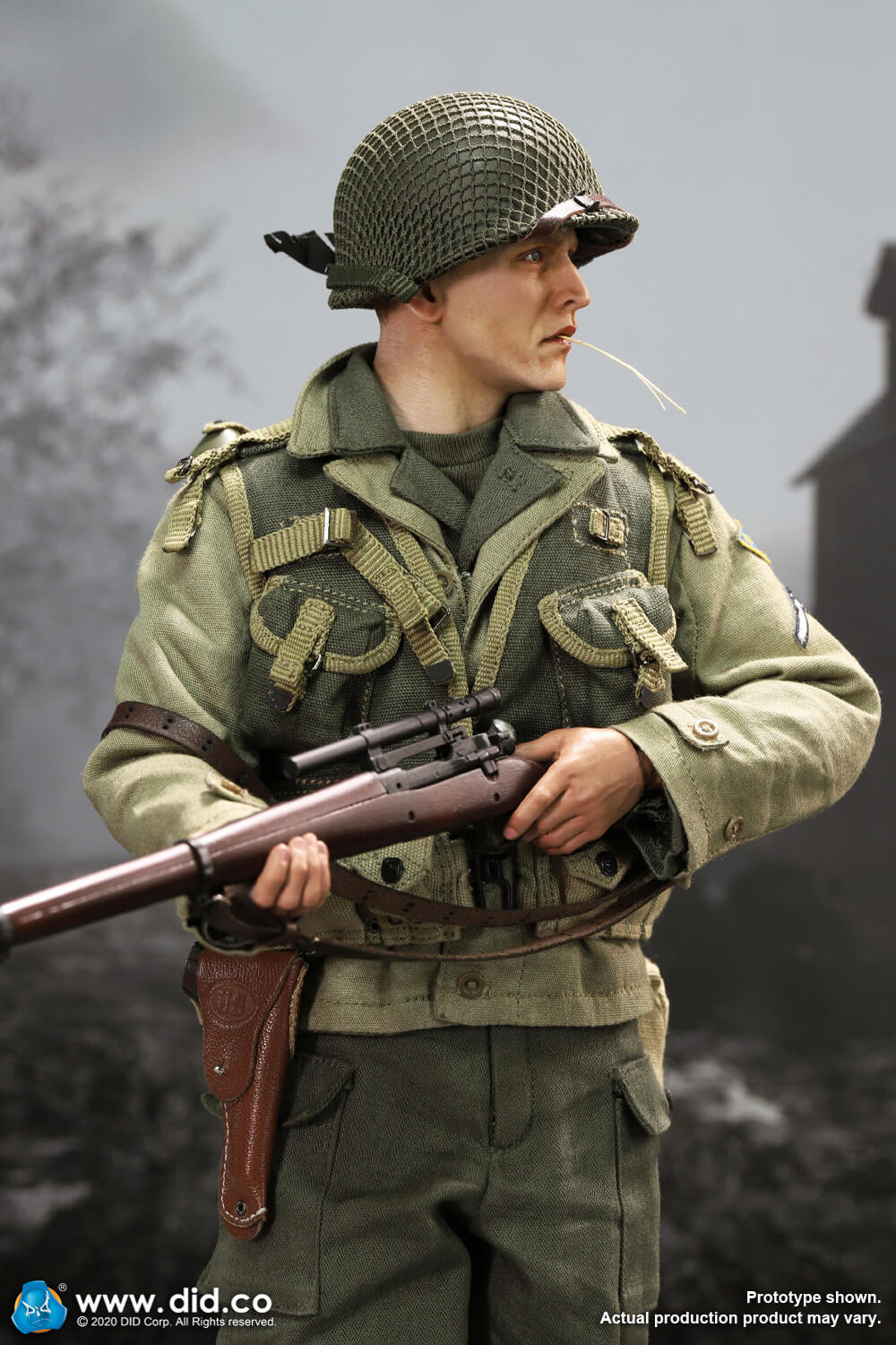 DiD - NEW PRODUCT: DiD: A80144 WWII US 2nd Ranger Battalion Series 4 Private Jackson 25107