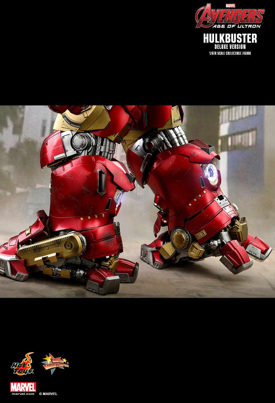 NEW PRODUCT: HOT TOYS: AVENGERS: AGE OF ULTRON HULKBUSTER (DELUXE VERSION) 1/6TH SCALE COLLECTIBLE FIGURE 2519