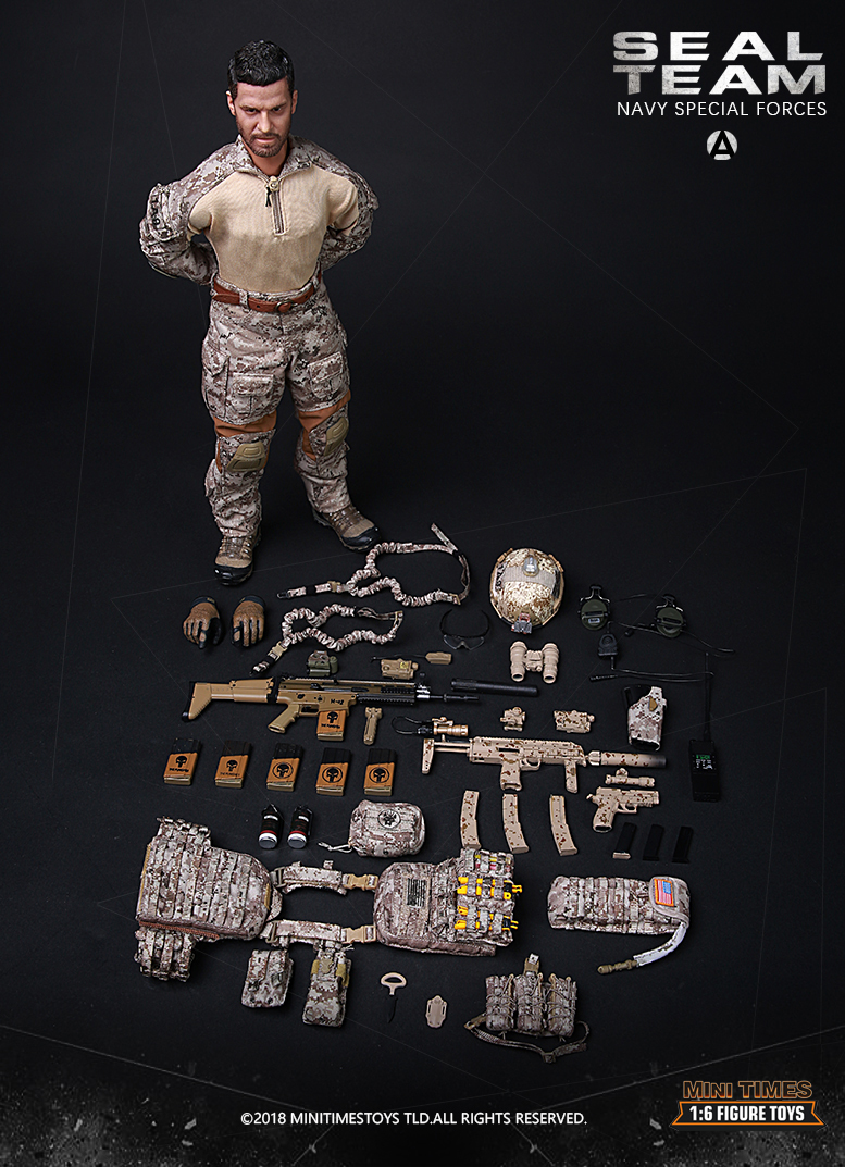 NEW PRODUCT: MINI TIMES TOYS US NAVY SEAL TEAM SPECIAL FORCES 1/6 SCALE ACTION FIGURE MT-M012 2523