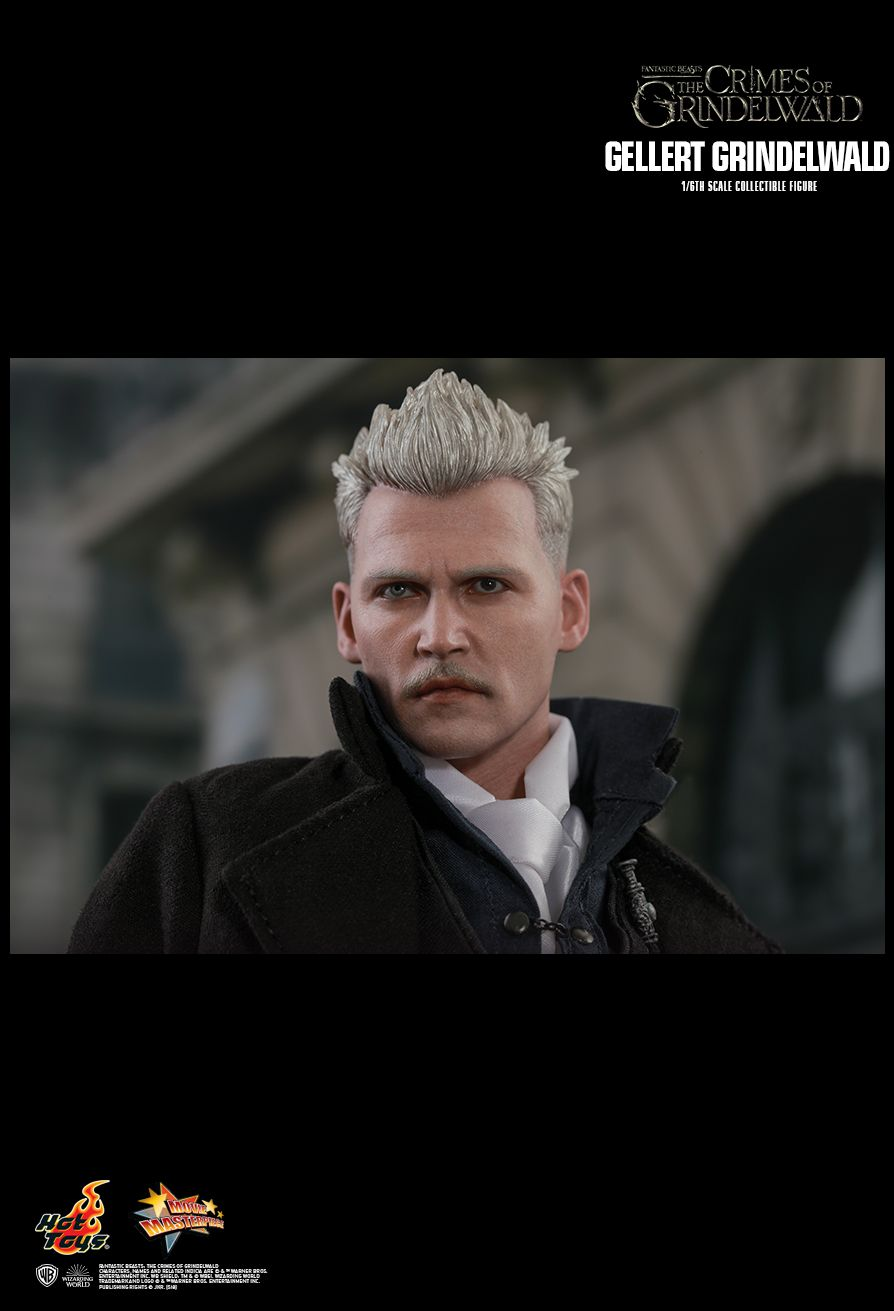 NEW PRODUCT: HOT TOYS: FANTASTIC BEASTS: THE CRIMES OF GRINDELWALD GELLERT GRINDELWALD 1/6TH SCALE COLLECTIBLE FIGURE 2528
