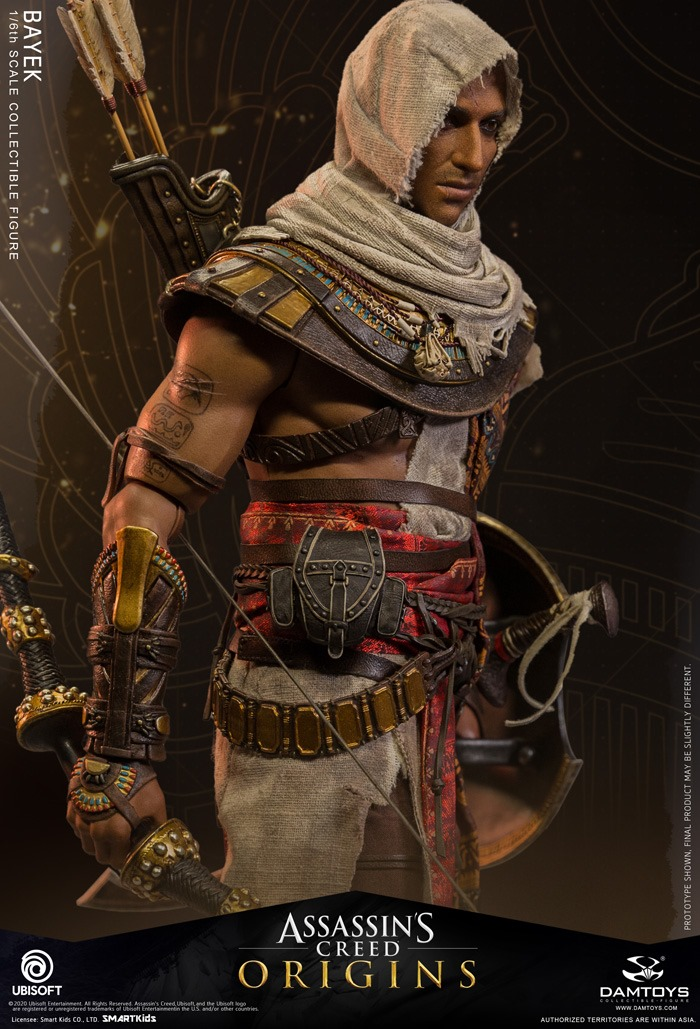 male - NEW PRODUCT: 1/6 DamToys Assassin's Creed Origins - Bayek 1/6 scale figure 2562