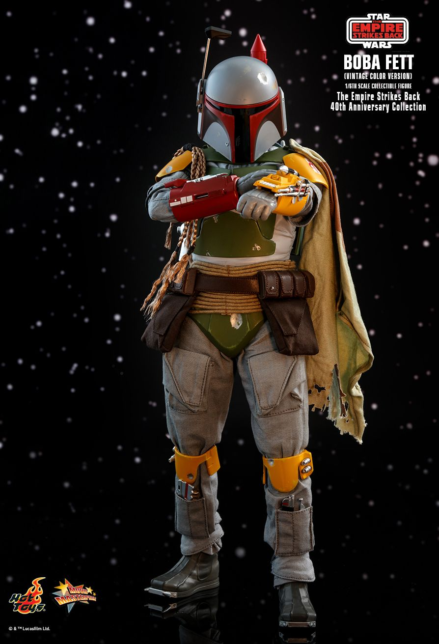 sci-fi - NEW PRODUCT: HOT TOYS: STAR WARS: THE EMPIRE STRIKES BACK™ BOBA FETT™ (VINTAGE COLOR VERSION) (40TH ANNIVERSARY COLLECTION) 1/6TH SCALE COLLECTIBLE FIGURE 2566