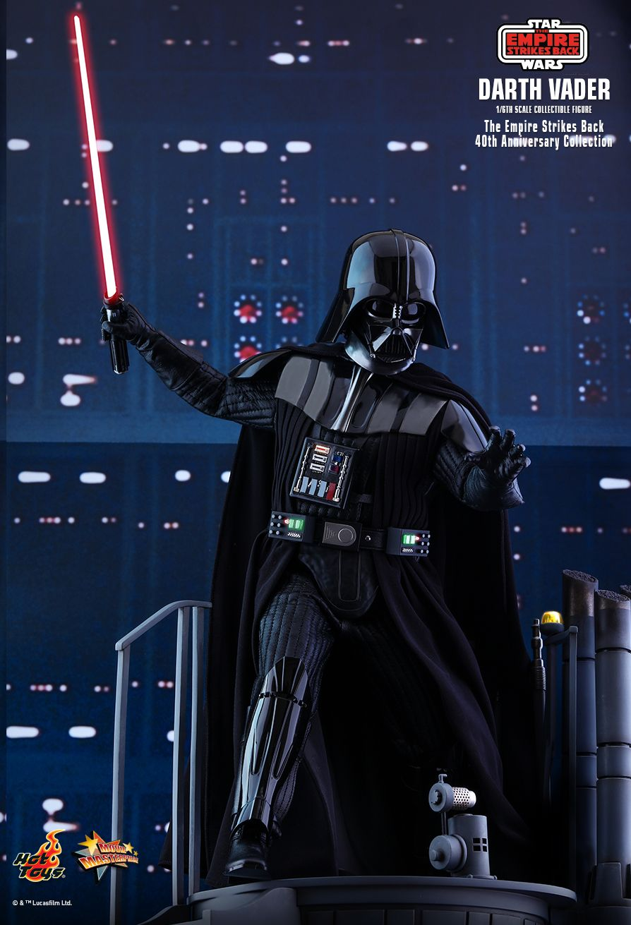 40thAnniversaryCollection - NEW PRODUCT: HOT TOYS: STAR WARS: THE EMPIRE STRIKES BACK™ DARTH VADER™ (40TH ANNIVERSARY COLLECTION) 1/6TH SCALE COLLECTIBLE FIGURE 2567