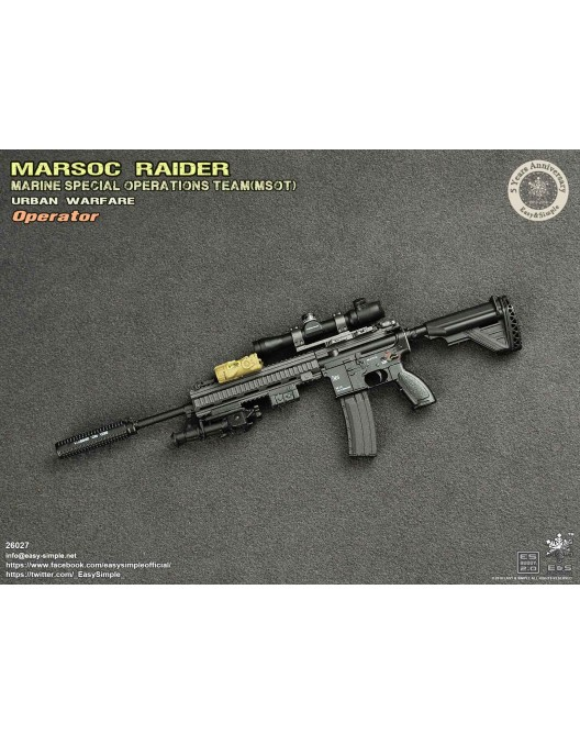 NEW PRODUCT: Easy & Simple 26027 1/6 Scale MARSOC Raider Urban Warfare Operator 26-52810