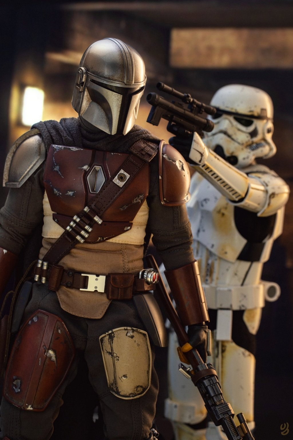 StarWars - NEW PRODUCT: HOT TOYS: THE MANDALORIAN -- THE MANDALORIAN 1/6TH SCALE COLLECTIBLE FIGURE 2605