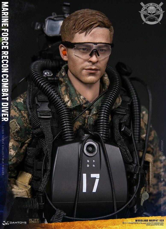 DamToys - NEW PRODUCT: DAM Toys: Marine Force Recon Combat Diver (Desert MARPAT) (GIDAM-78056) & (Woodland MARPAT) (GIDAM-78055) 2616