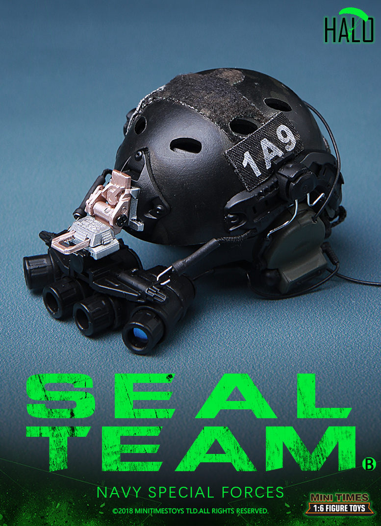 "Dog - NEW PRODUCT: MINI TIMES TOYS US NAVY SEAL TEAM SPECIAL FORCES ""HALO"" 1/6 SCALE ACTION FIGURE MT-M013 2622"