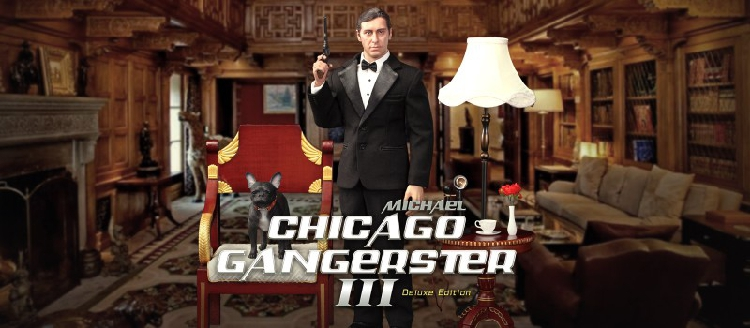 Michael - NEW PRODUCT: DiD Corporation: T80128  Chicago Gangster III Michael & T80128S  Chicago Gangster III Michael Deluxe Version 2629