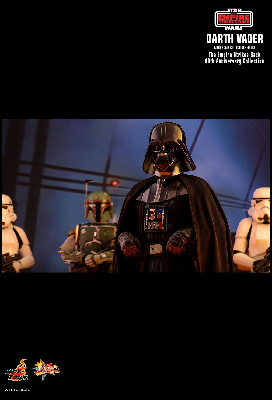 StarWars - NEW PRODUCT: HOT TOYS: STAR WARS: THE EMPIRE STRIKES BACK™ DARTH VADER™ (40TH ANNIVERSARY COLLECTION) 1/6TH SCALE COLLECTIBLE FIGURE 2645